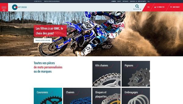 Site Magento2 Kitcross