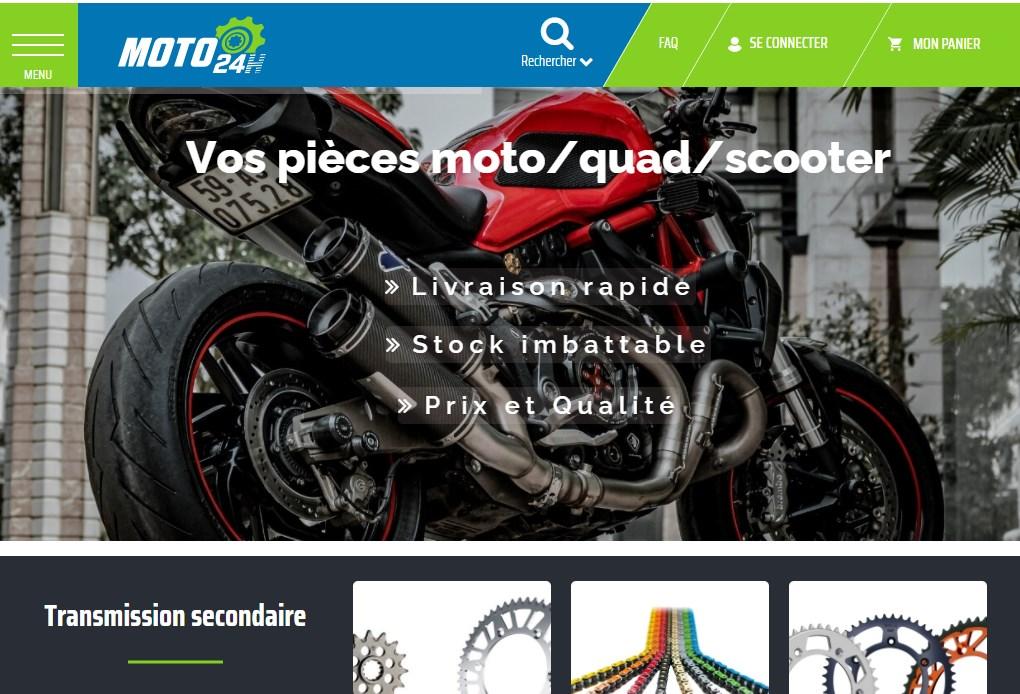 Site Magento2 Moto24h